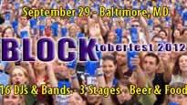 Blocktoberfest discount code for show tickets in Baltimore, MD (1st Mariner Arena)