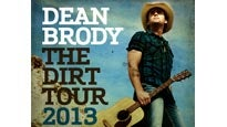Dean Brody: The Dirt Tour 2013 pre-sale password for early tickets in Winnipeg