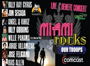 Miami Rocks Our Troops Tickets