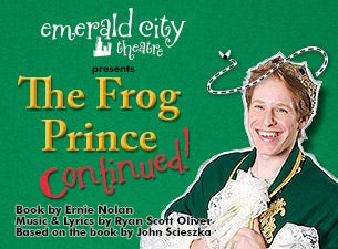 Frog Prince Continued Tickets