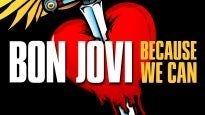 BON JOVI Because We Can - The Tour presale passcode for early tickets in Uncasville
