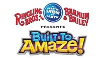 discount  for Ringling Bros. and Barnum & Bailey: Built To Amaze tickets in Richmond - VA (Richmond Coliseum)
