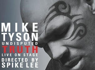 Mike Tyson Undisputed Truth @ Arlene Schnitzer Concert Hall