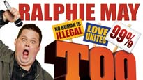 Comedian Ralphie May Live Too Big To Ignore Tour discount offer for show in Memphis, TN (Cannon Center for the Performing Arts)