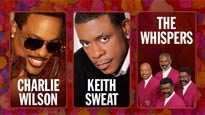 Charlie Wilson, Keith Sweat, The Whispers pre-sale password for early tickets in Los Angeles