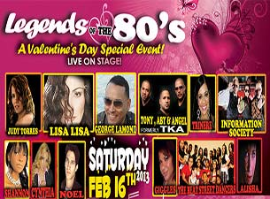 Legends Of The 80's Tickets