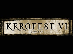 Krrofest Tickets