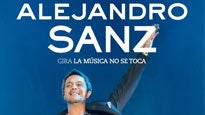 Alejandro Sanz pre-sale password for early tickets in Los Angeles