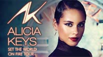 ALICIA KEYS: SET THE WORLD ON FIRE TOUR discount opportunity for concert in Chicago, IL (United Center)