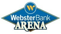 Logo for Webster Bank Arena