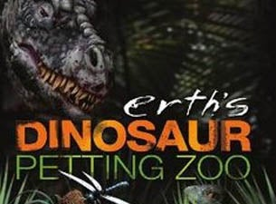 Erth's Dinosaur Petting Zoo Tickets