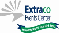 Logo for Extraco Events Center