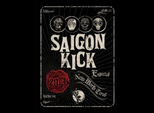 Saigon Kick Tickets