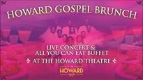 Sunday Gospel Brunch at Howard Theatre