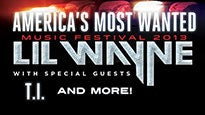 America's Most Wanted Festival 2013 starring Lil' Wayne presale code for show tickets in Oklahoma City, OK (Chesapeake Energy Arena)