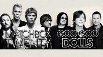 Matchbox Twenty & The Goo Goo Dolls discount offer for concert in Universal City, CA (Gibson Amphitheatre at Universal Citywalk)
