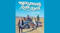 Macklemore & Ryan Lewis presale passcode for early tickets in Chicago