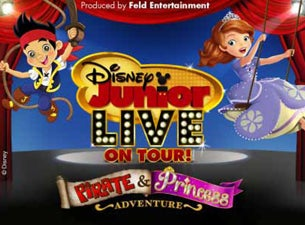 Disney Junior Live On Tour! Pirate & Princess Adventure Presented by Stonyfield YoKids Organic Yogurt Tickets