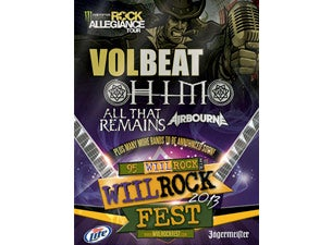 95 WIIL Rock Fest Tickets