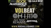 presale password for Rock Allegiance Tour feat Volbeat, HIM, Airborne tickets in Maplewood - MN (Myth)