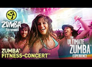 Zumba Fitness Concert Tickets