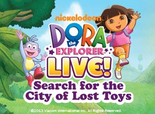 Dora the Explorer Live! Search for the City of Lost Toys Tickets