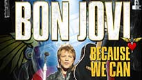 BON JOVI Because We Can - The Tour presale passcode for early tickets in Vancouver