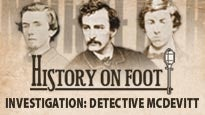 Detective McDevitt Walking Tour at Fords Theatre