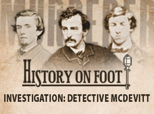 McDevitt History On Foot Walking Tour Tickets