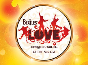 beatles love cirque tickets