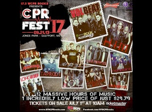 CPR Fest Tickets