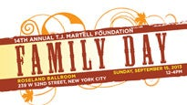 14th Annual T.J. Martell Foundation Family Day presale code for show tickets in New York, NY (Roseland Ballroom)