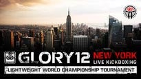 Glory 12 International Kickboxing presale password for early tickets in New York