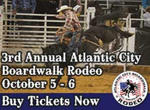 Atlantic City Boardwalk Rodeo Tickets