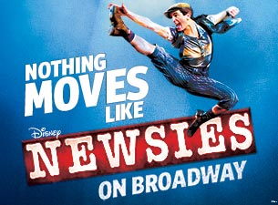 Newsies Ticketmaster