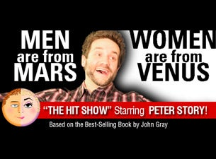 Men Are From Mars Women Are From Venus Tickets