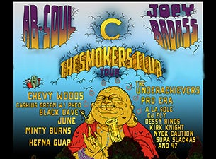 Smokers Club Tickets