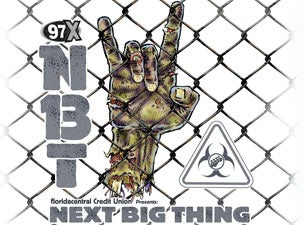 97X Next Big Thing Tickets