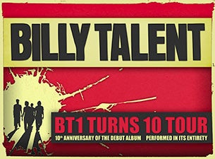 Billy Talent Tickets