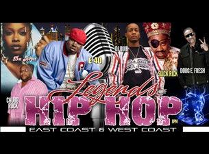 Legends of Hip HopTickets