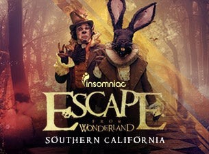 ESCAPE FROM WONDERLAND Tickets