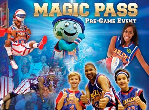 Harlem Globetrotters Magic Pass Tickets
