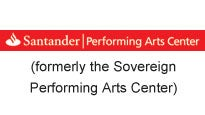 Logo for The Santander Performing Arts Center (Formerly Sovereign P.A.C)