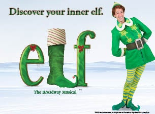Elf The Musical Touring Dates