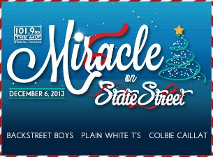 101.9 The Mix: Miracle On State Street Tickets