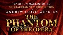 The Phantom of the Opera (Touring) pre-sale password for early tickets in Rochester
