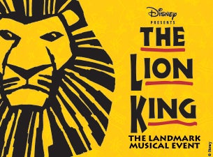 The Lion King Ticketmaster