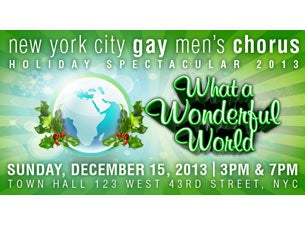 New York City Gay Men's Chorus Tickets
