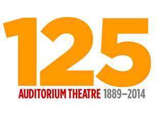 Auditorium Theatre 125th Anniversary Donation Tickets