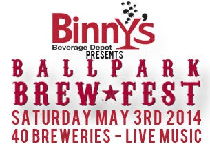 Ballpark Brew Fest Tickets